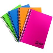 Norcom 77386-12 Personal Size Fat Book Notebook, Assorted Color - 5.5 x 4 in.