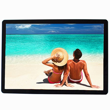 """15.6"""" 1080p HD LCD Digital Photo Frame Picture MP4 Movie Player Remote Control (1280*800 Resolution)"""