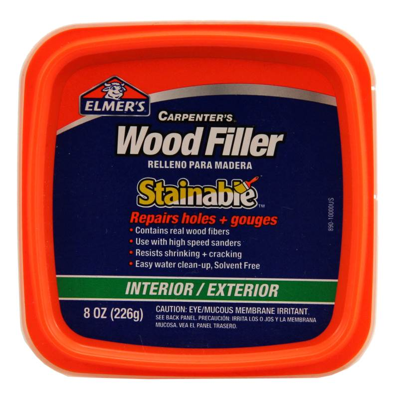 FILLER WOOD STAINABLE 8OZ