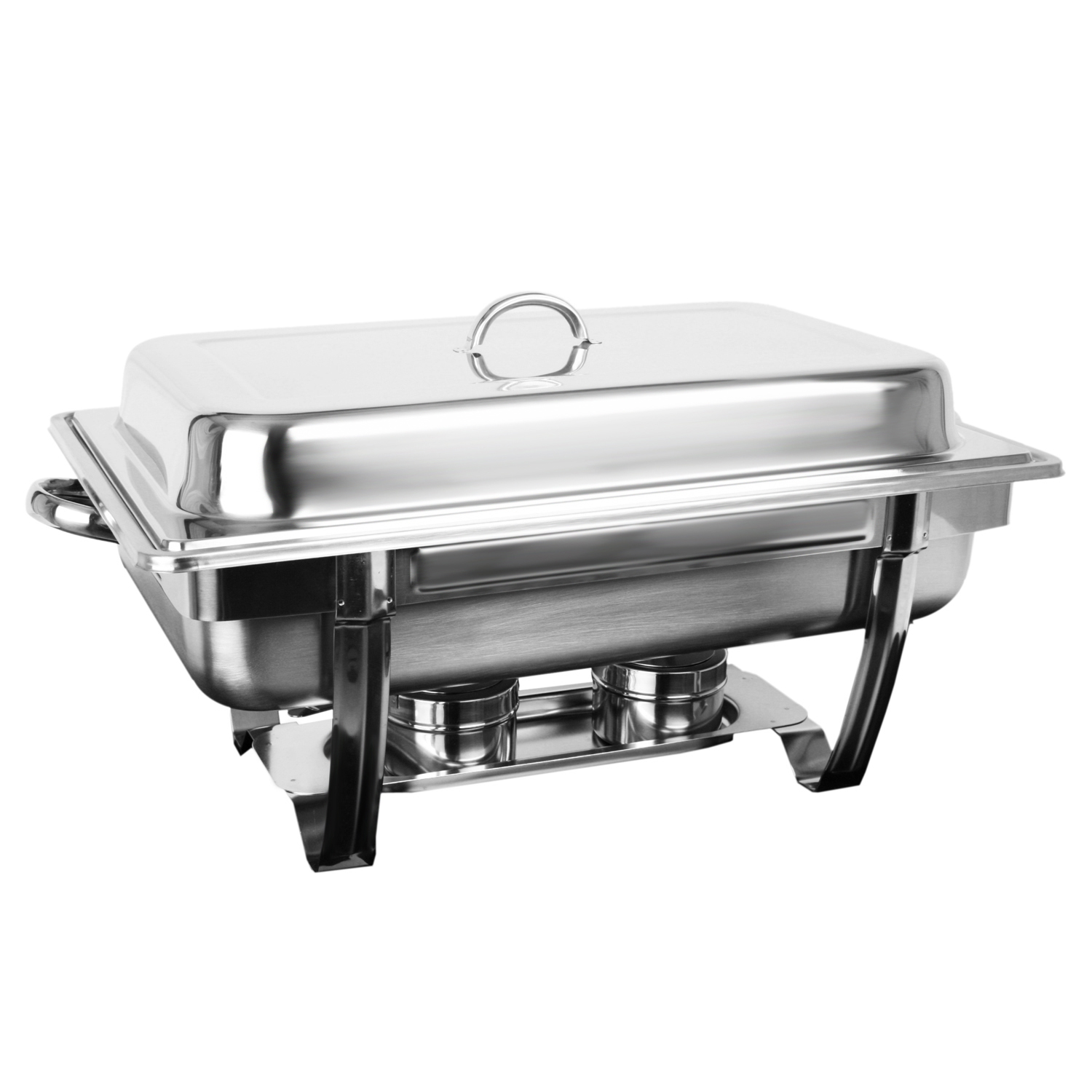 Excellante 8 Quart Stainless Steel Chafer, Stackable