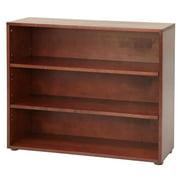 Kids 3 Shelf Low Wooden Bookcase