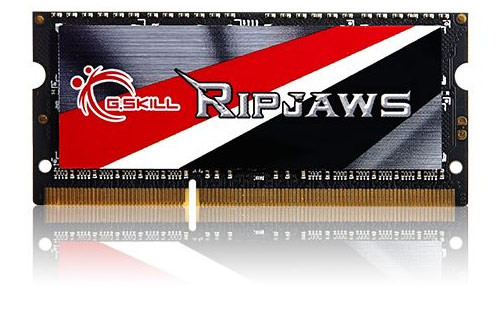 G.SKILL F3-1600C11S-8GRSL Ripjaws 8GB 204-Pin DDR3 SO-DIMM 1600 Memory RAM