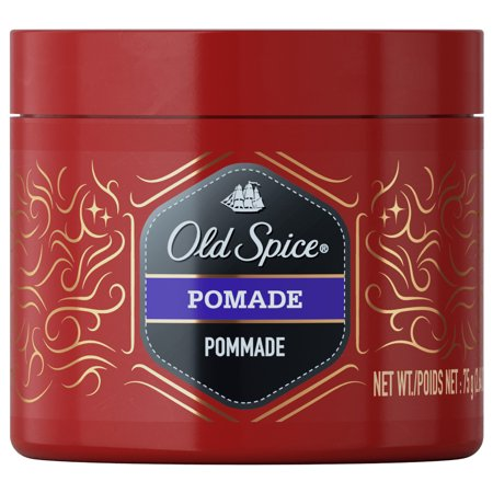 Lightweight Pomade (Old Spice Pomade, 2.64 oz. - Hair Styling for Men)