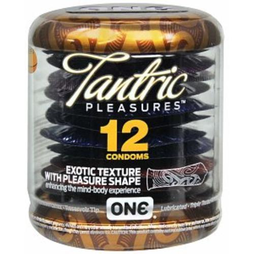 ONE Condoms, Tantric Pleasures 12 ea