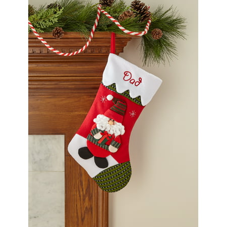 personalized snow cap christmas stocking available in 11 designs walmartcom