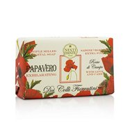 Dei Colli Fiorentini Triple Milled Vegetal Soap - Poppy 8.8oz
