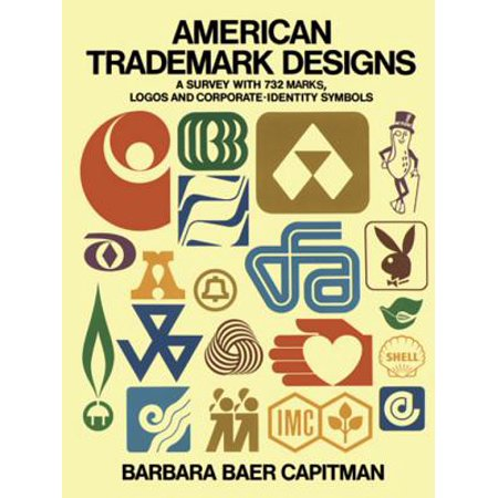 American Trademark Designs - eBook This collection of 732 American trademarks and symbols is widely representative of major past and current trends in American trademark design. The marks are arranged in categories that include entertainment, education, real estate, insurance, food and beverage, retailing, transportation, utilities, heavy industry, and others, and are chosen from local and internationally known examples.Reprinted in black-and-white, the marks appear here in their standard form on signs, letterheads, book bindings, T-shirts, sugar bags, household appliances, bank checks, drinking cups, coasters, screened commercials and printed ads, ashtrays, clothing labels, shopping bags, awnings, and so on. For several current trademarks, earlier versions are also illustrated and dated, tracing trademark genealogies of possible interest both as history and design. Captions identify the trademarks, giving year of design, and, when known, the name of the designer. The editor in her introduction describes the development of American trademarks from Ralston Purina's homespun  checkerboard square  to the Cities Service corporate  triangle.  Notes on the specialized uses and requirements of various kinds of marks introduce each section.This is a remarkable sourcebook for graphic artists, students, and commercial designers. Social psychologists, market researchers, and others interested in group behavior may find it the starting point of ideas and experiments. This book also has a curious fascination as browsing, illustrating at a glance how familiar, memorable, and widespread trademarks seem to be.