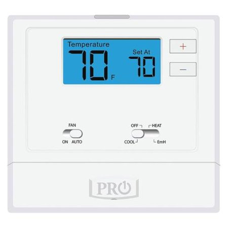 - PRO1 IAQ Thermostat, Stages 2 Heat/1 Cool, T621-2