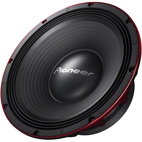 Pioneer TS-W1200PRO 12 PRO Series Subwoofer with Dual 4-Ohm Voice Coil