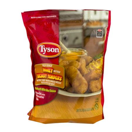 Tyson Chicken Breast Tenders Honey Battered, 25.5 OZ ...