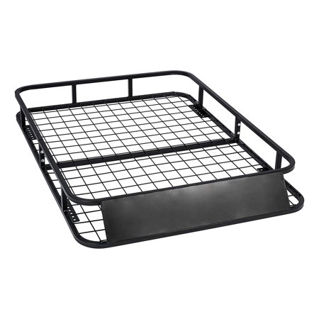 MPH Production Universal Roof Rack for Truck (Cargo Car Top Luggage Carrier Basket Traveling SUV (Best Suv For Traveling Salesman)