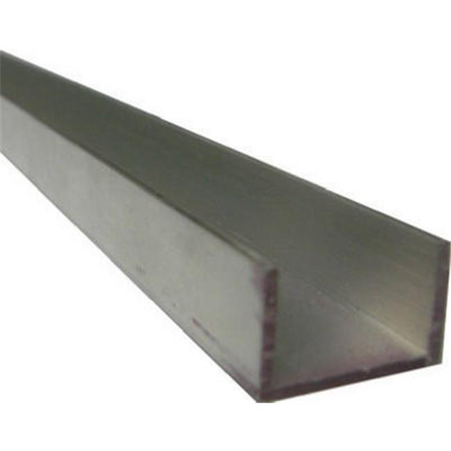 Boltmaster 11384 0.75 x 48 in. Aluminium Trim Channel - image 1 de 1