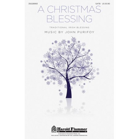 Christmas Shawnee Press - Shawnee Press A Christmas Blessing SATB composed by John Purifoy