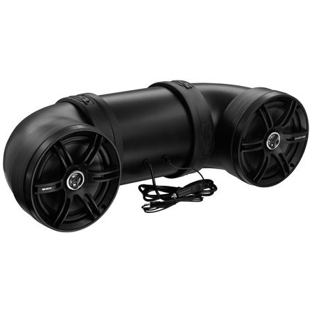 Sound Storm Laboratories Btb8 Boomtube All Terrain Amplified Sound System With Marine Speakers And Bluetooth  700W  8   Speakers