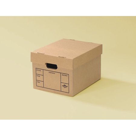 file moving boxes 200 strength small 15 x 12 x 10 inches 15 pack. Black Bedroom Furniture Sets. Home Design Ideas