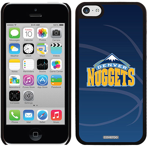 Denver Nuggets Basketball Design on iPhone 5c Thinshield Snap-On Case by Coveroo