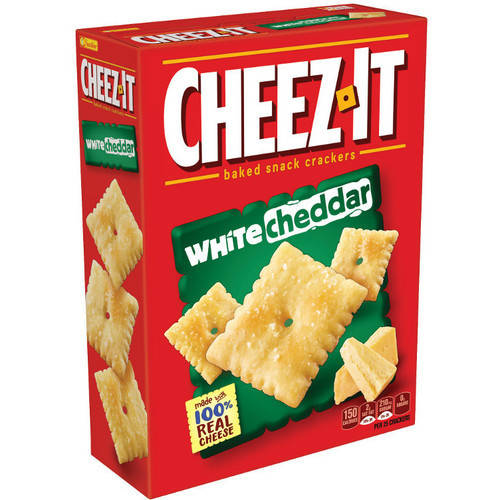Cheez-It White Cheddar Baked Snack Crackers, 12.4 oz by Kellogg Company