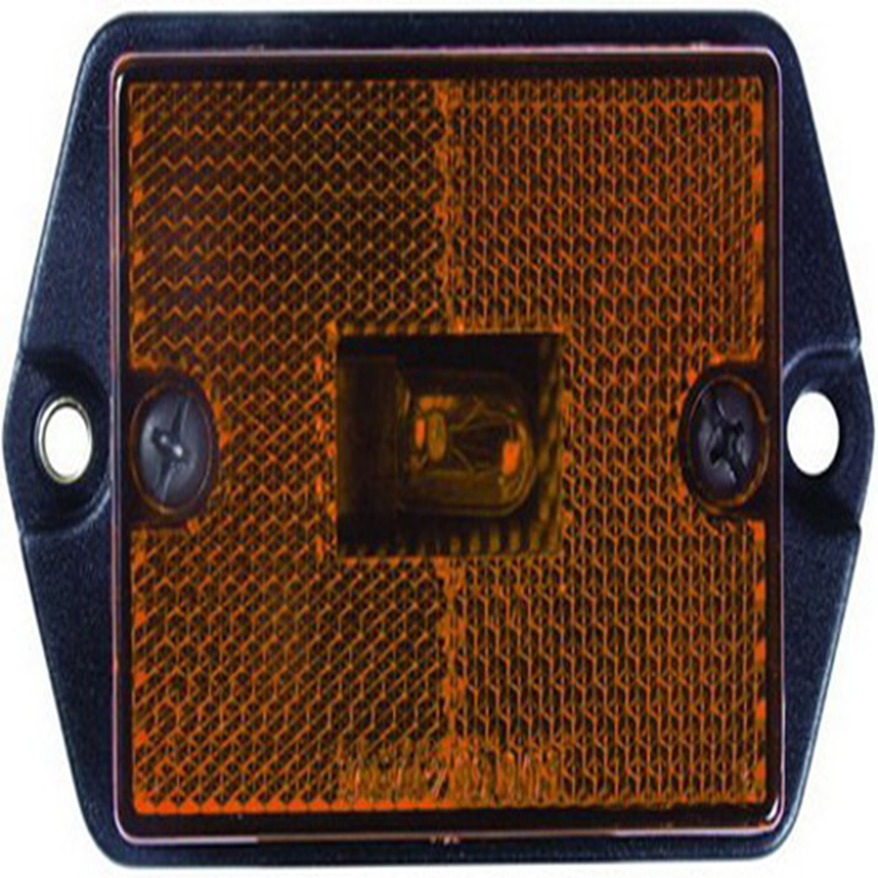 RECTANGULAR CLEARANCE LIGHT AMBER