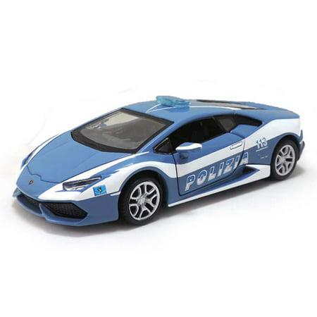 Lamborghini Huracan Lp610 4 Police  Blue   Maisto 31511   1 24 Scale Diecast Model Toy Car