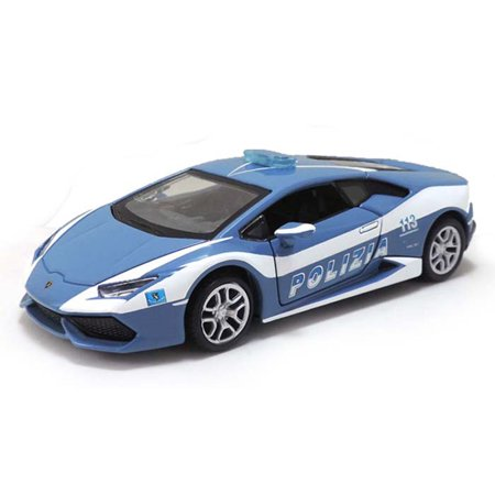 lamborghini huracan lp610 4 police blue maisto 31511 1 24 scale diecast model toy car. Black Bedroom Furniture Sets. Home Design Ideas