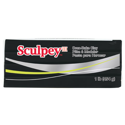 Sculpey Oven-Bake Clay Black
