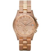 Marc Jacobs Women's MBM3074 Henry Classic Rose Gold-Tone Stainless Steel Watch with Link Bracelet