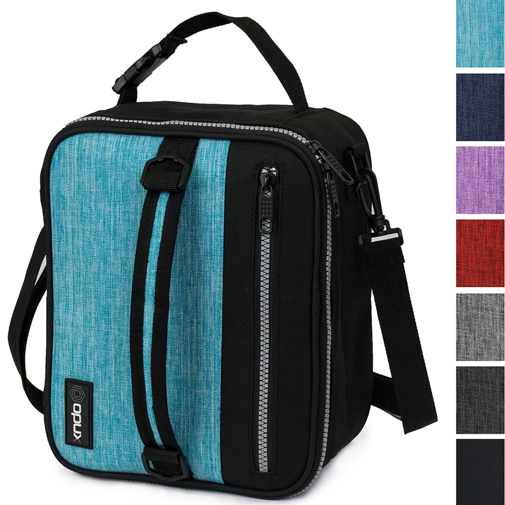 OPUX Premium Thermal Insulated Lunch Bag| Durable Lunch Box for Adult Men Women | Soft Leakproof Lining with Shoulder Strap | Compact Work Lunch Pail