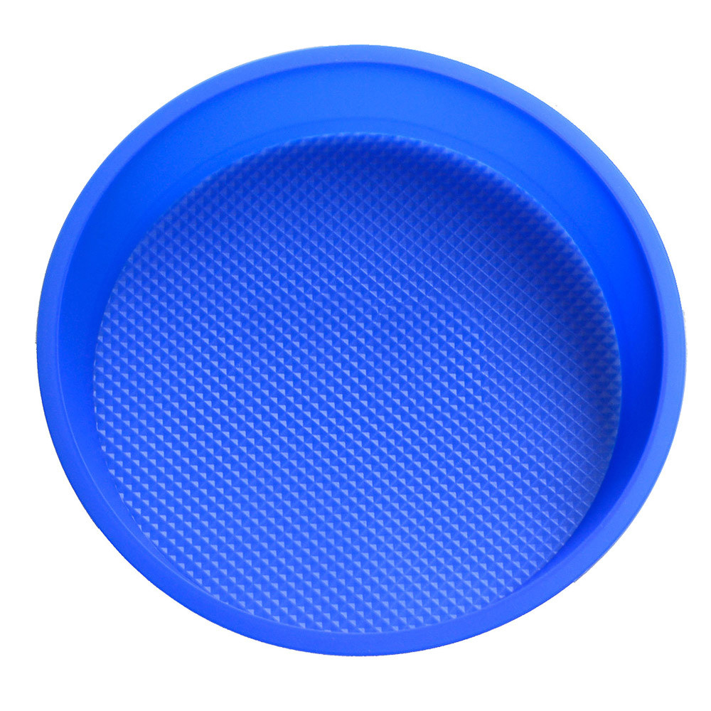 9 Inch Big Round Flexible Silicone Cake Baking Mold Cake Pans DIY Baking Tray by