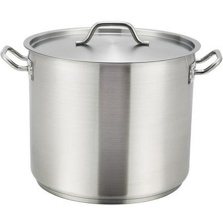 Winco 12 Quart Stock Pot With Lid