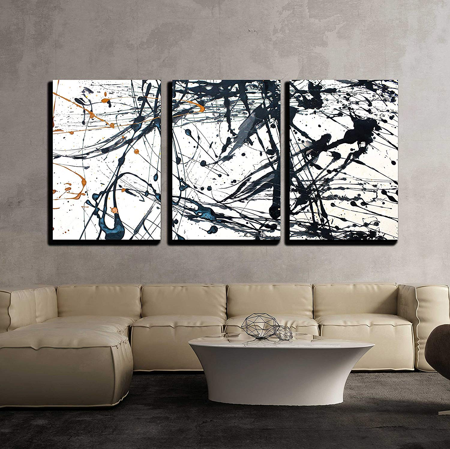 Wall20 20 Piece Canvas Wall Art   Dead Tree Branch, Black and White ...