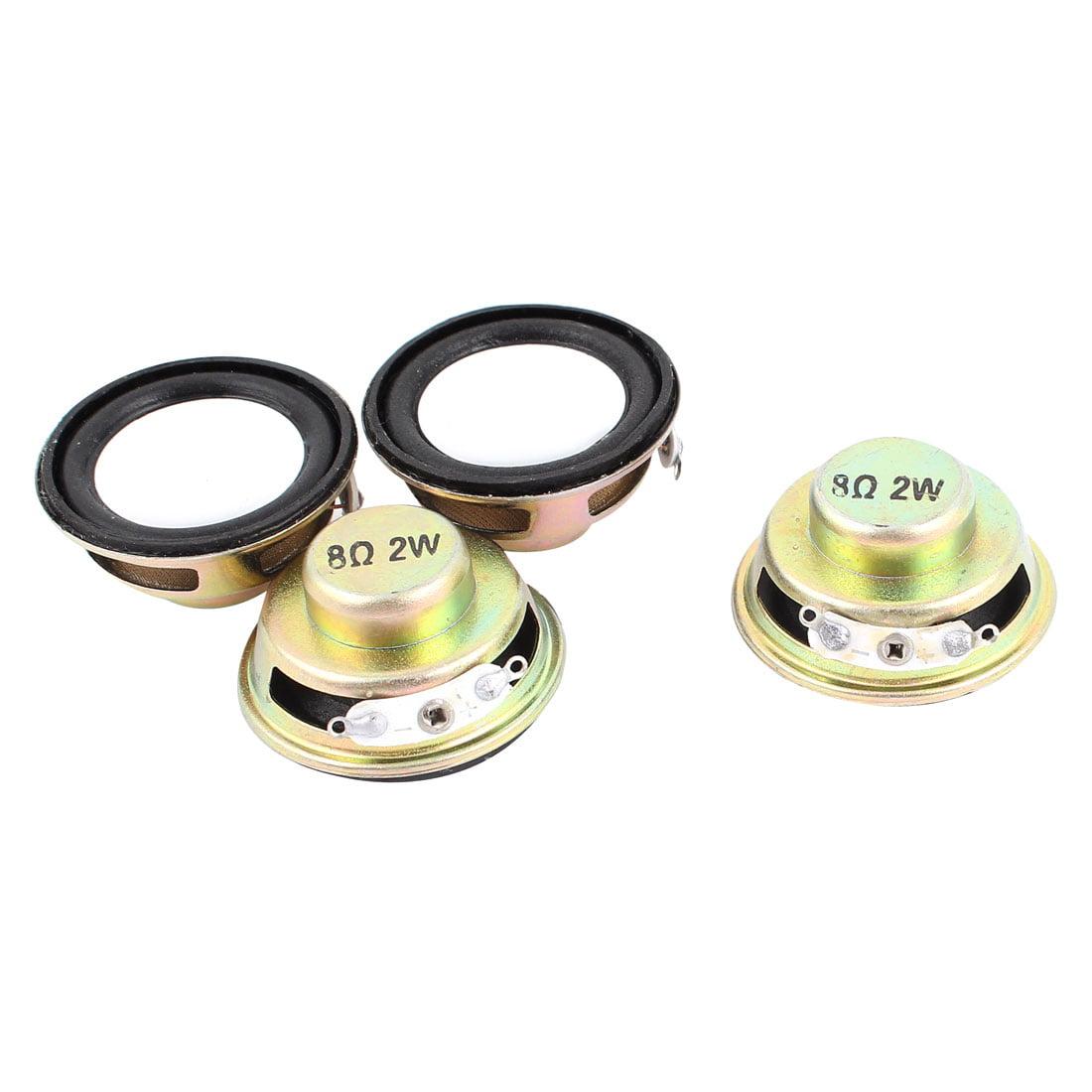 4pcs 8Ohm 2W 36mm Diameter Round Metal Shell Audio Speaker Horn - image 2 of 2