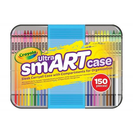 Crayola Ultra smART Case, 150 - Crayola Inspiration Art Case