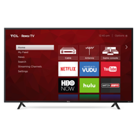 TCL 55S401 55-inch 4K HDR Roku Smart LED TV Refurb
