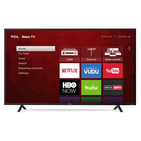 "TCL 55"" Class 4K (2160P) HDR Roku Smart LED TV (55S401)"
