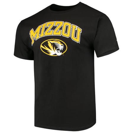 Men's Russell Black Missouri Tigers Core Print T-Shirt
