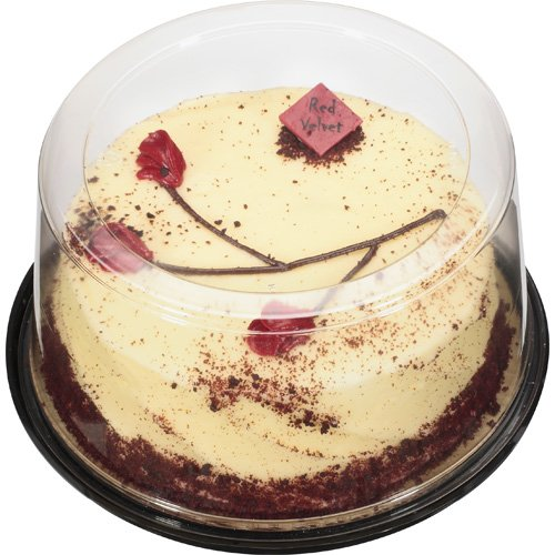 """The Bakery At Walmart 7"""" Red Velvet Cake With Cream Cheese Icing, 34 oz"""