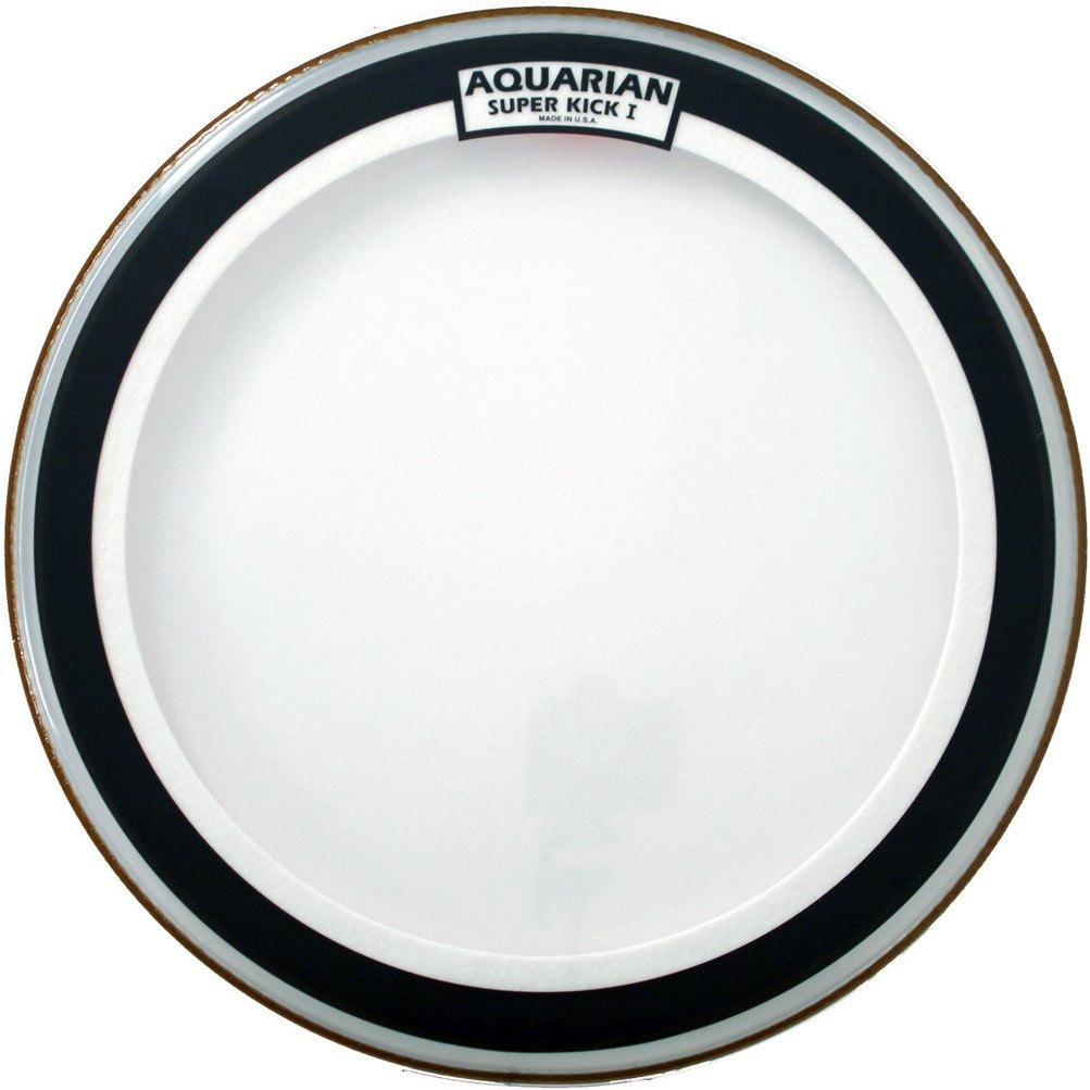 Aquarian 18 Inch Super Kick I Coated Single Ply Bass Drum Head