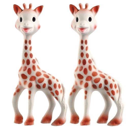 Vullie 616324-2 Sophie the Giraffe Teether  Set of 2