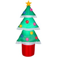 Holiday Time Yard Inflatables Christmas Tree, 4 ft