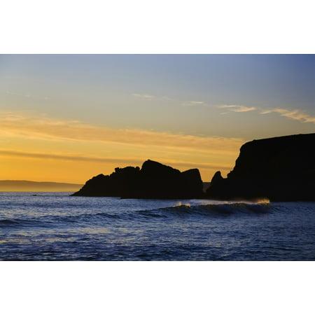 Ballydowane Cove Bunmahon Copper Coast Geopark County Waterford Ireland Posterprint