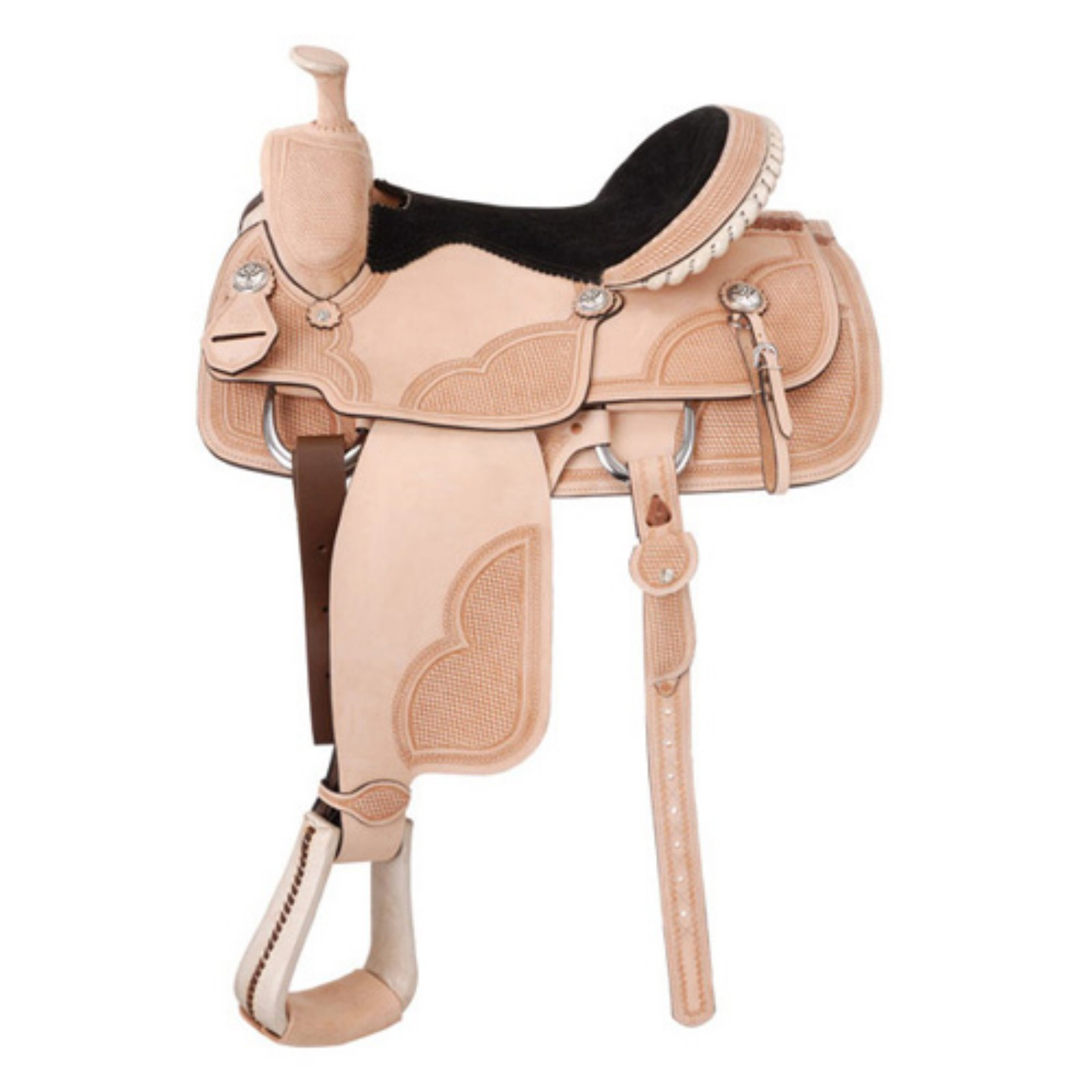 Royal King Corral City Team Roper Saddle