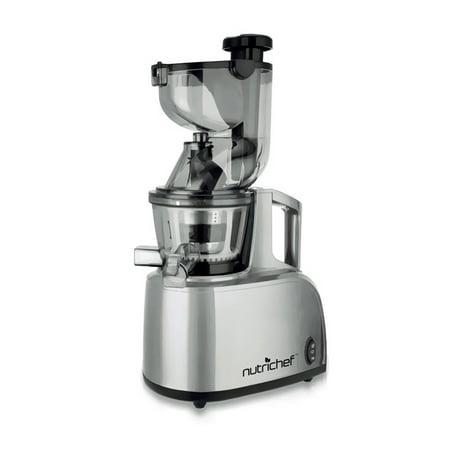 NutriChef PKSJ40 - Countertop Masticating Slow Juicer / Juice & Drink