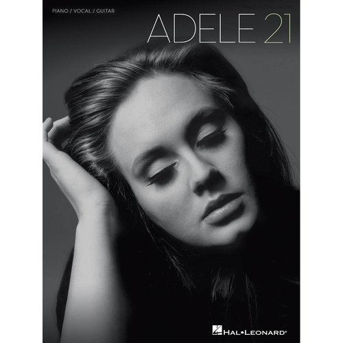 Adele: 21 Piano/Vocal/Guitar Song Book