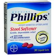 Phillips' Stool Softener Liquid Gels 30 Liquid Gels Each