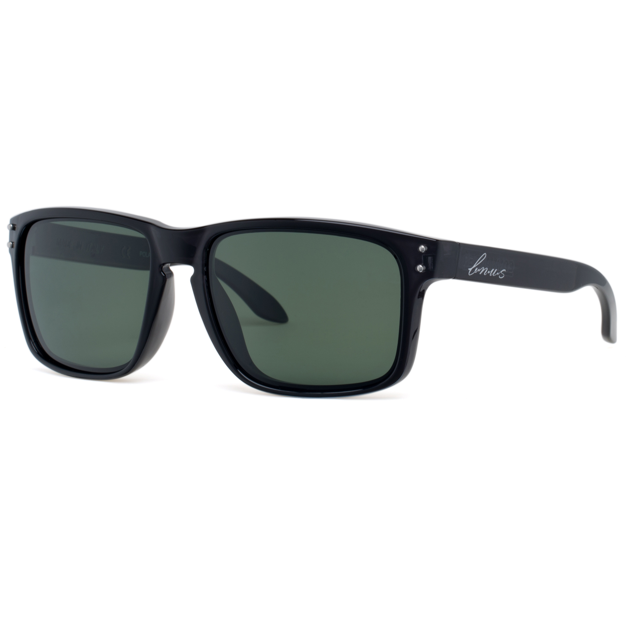 Bnus italy made classic sunglasses corning real glass lens w polarized option
