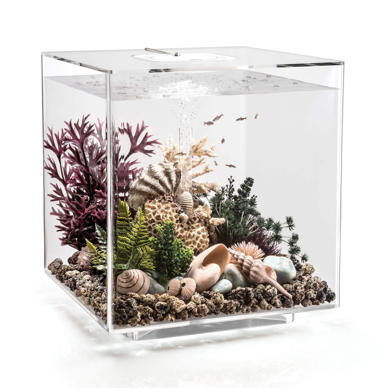 Biorb Cube 60 Aquarium With Led Light 16 Gallon