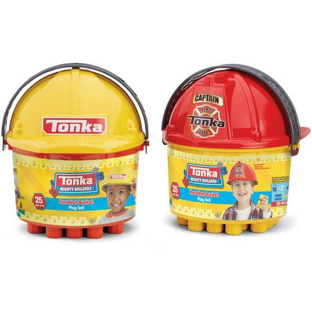 Tonka 25 Pc Construction Set W/ Helmet