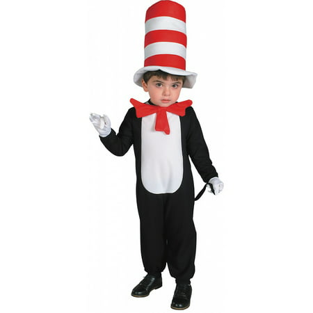 The Cat in the Hat Toddler Costume - Toddler (Cat In The Hat Costume For Halloween)