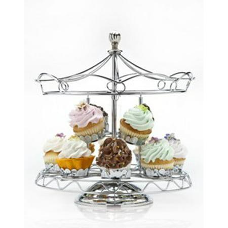 Godinger Carousel 12 pc. Cupcake Holder (Godinger Tiered Stand)