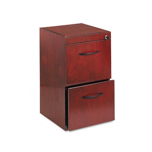 Pedestal Files for Credenza/Return File-File-Finish:Sierra Cherry Veneer